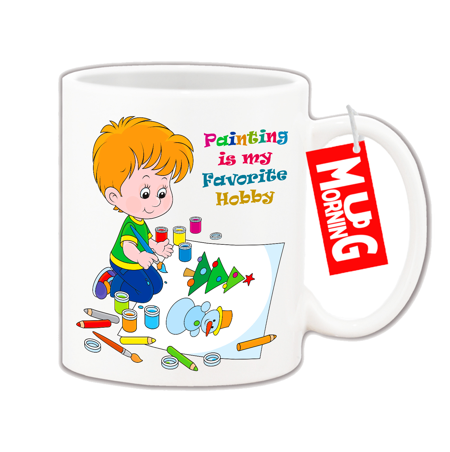 Mug For Kids Painting Is My Favorite Hobby Best Coffee Mugs